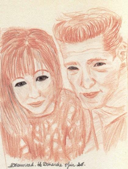 Jason Priestley, Shannen Doherty by joey7lindley